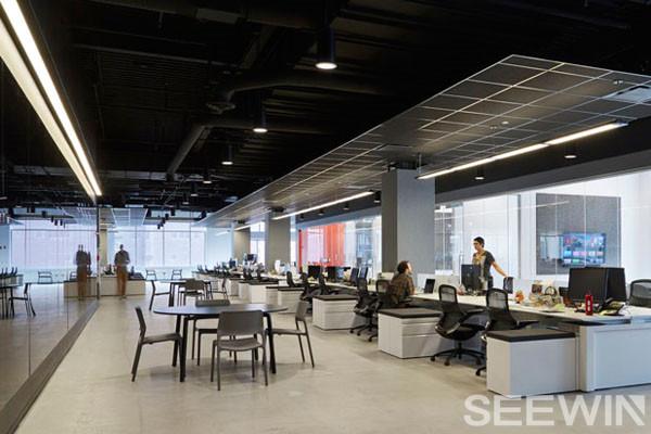 头脑风暴最佳环境——开放式办公空间