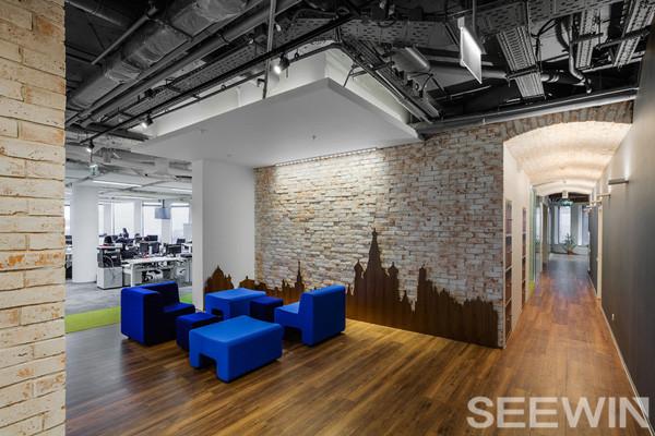 开敞与合作办公家具设计打造舒适,高效办公空间