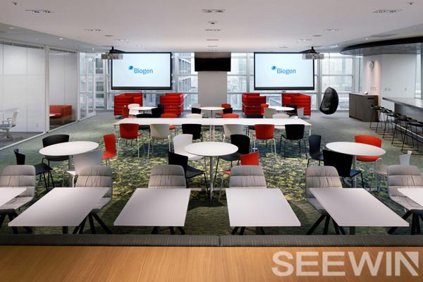 时尚设计让协作办公家具空间取代传统的工作方式