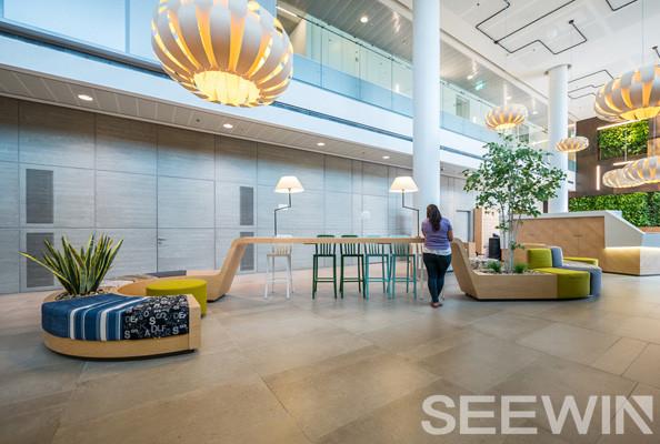 为什么办公空间要将办公家具与绿色植物相结合设计?