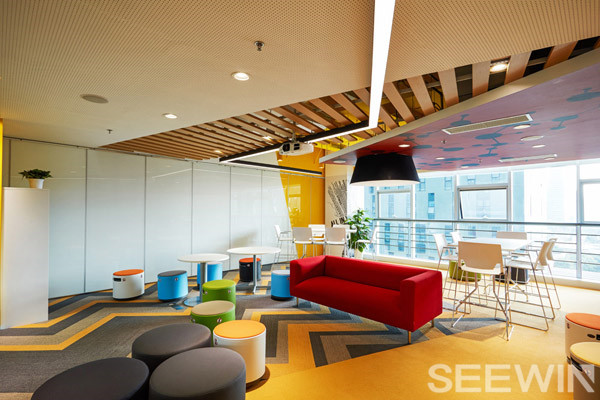 满足健康和工作生活的平衡,办公家空间设计最高境界