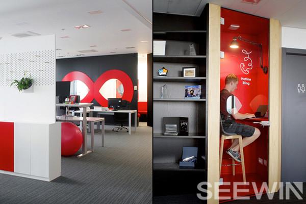 速度、科技、时尚、犹如超级英雄般的超强气场办公空间