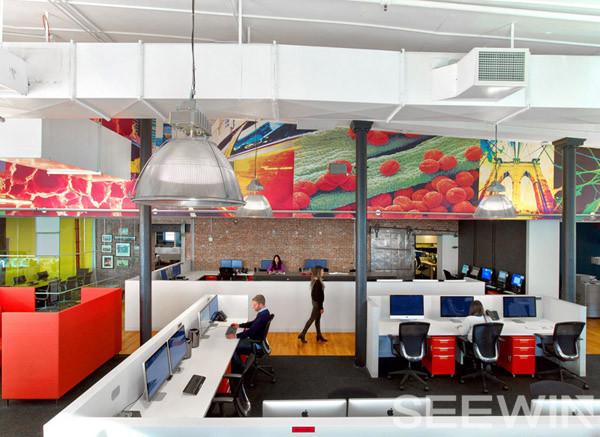 灵动开放布局,打造合作与交流多元化的办公家具空间