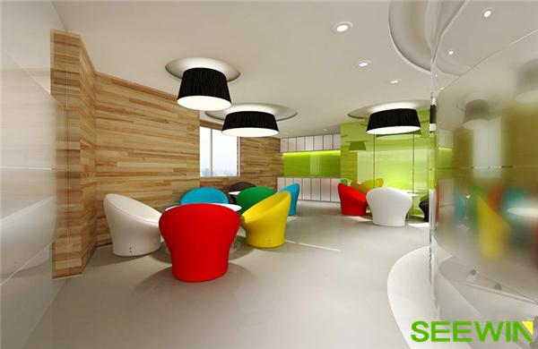 充满活力的办公空间设计
