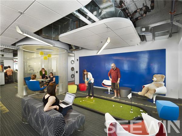 全球最佳雇主之一谷歌的办公空间打造理念