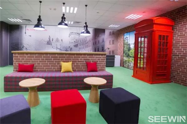灵活、开放式办公空间设计