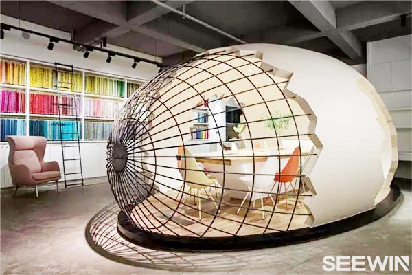 """让你脑洞大开的""""巨蛋""""办公空间设计"""