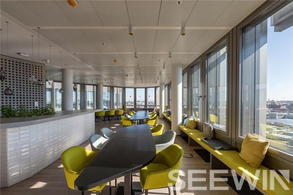 创造力与活力让办公空间摆脱传统办公室的束缚