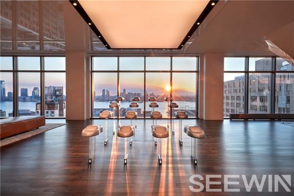 """""""尊崇奢华""""的设计打造精致办公空间,带来一流工作体验"""