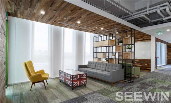 个性办公家具设计呈现一个优雅、极具品味的办公空间