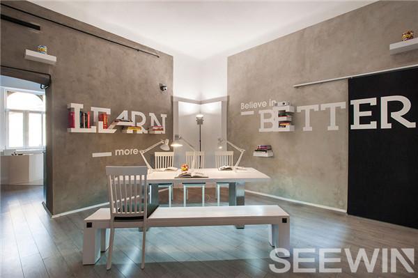 定制办公家具打造充满创意和灵感的品牌文化展示空间