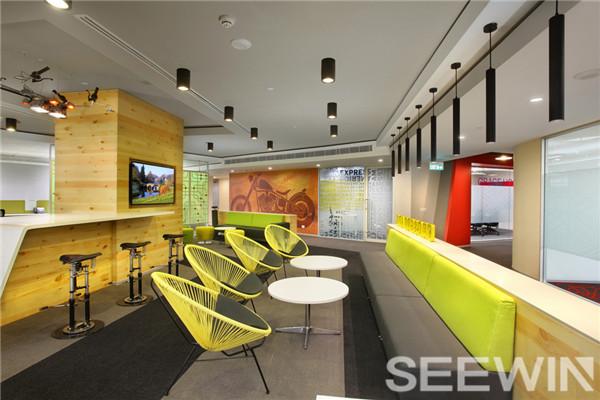 靓丽多姿的主题色彩、创建活力多元的办公场所
