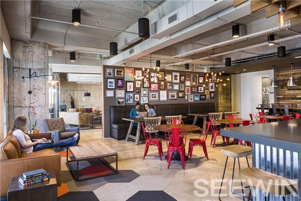 创意设计打造工作与休闲并存的多元化时尚办公空间