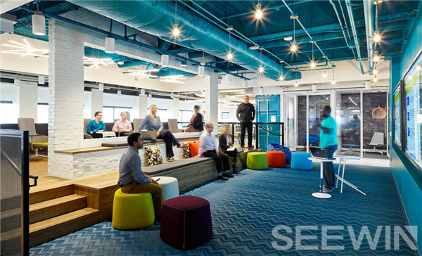 开放式办公让转型进行中公司更加快速发展