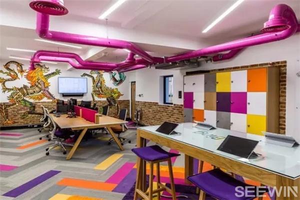 具有时代精神、独一无二的创意办公空间