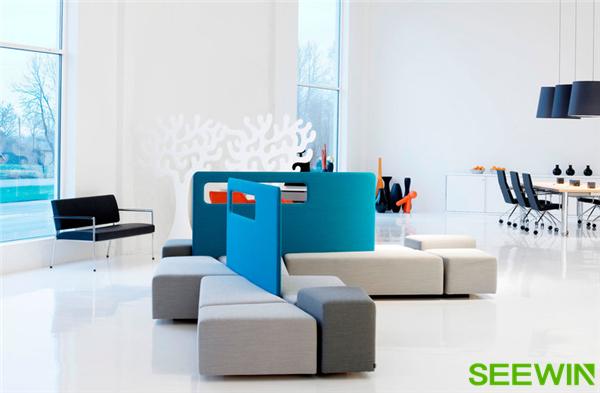 创意沙发组合,空间里一道靓丽的风景
