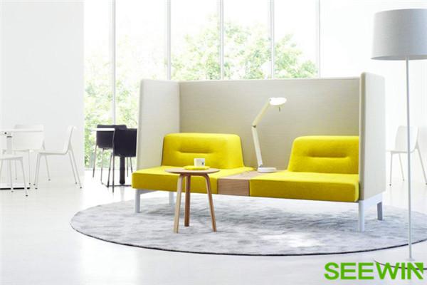 组合式办公沙发几种搭法你可能还不知道!