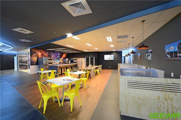 多元化的设计创建平等开放的办公空间