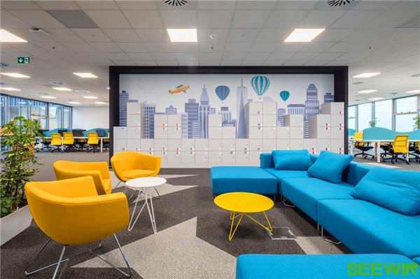 构建一个半开放式创意、高效的工作空间
