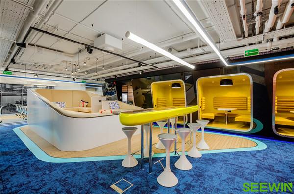 灵动开放式空间设计,满足团队多元需求
