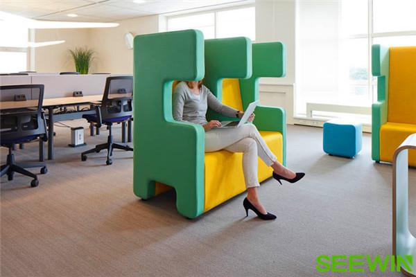 独特的设计成为办公空间一道美丽的风景
