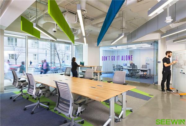 轻松、灵动、青春、创意办公空间设计