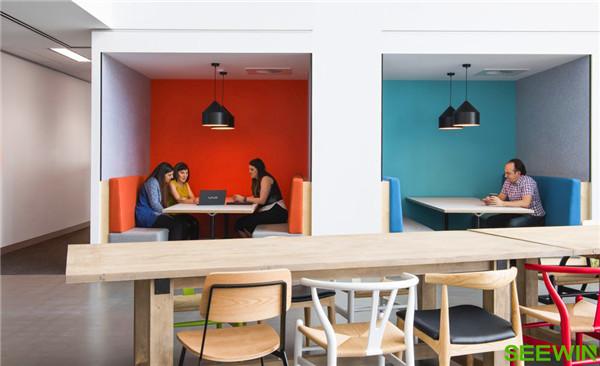 新的办公空间带来崭新的气象和积极的影响