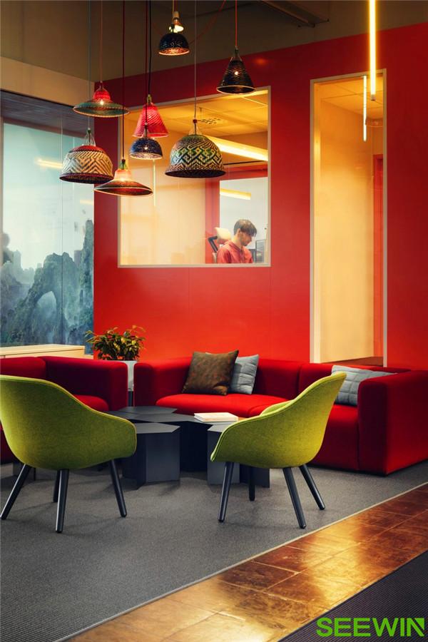 好玩有趣、充满时尚活力的办公空间设计