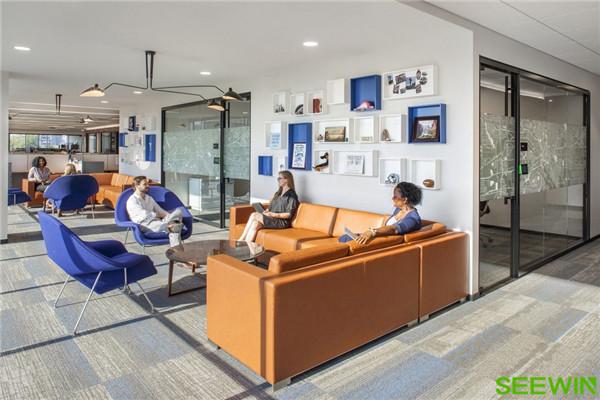 创新灵动 美国Spirit达拉斯办公家具设计|SEEWIN诗敏办公家具