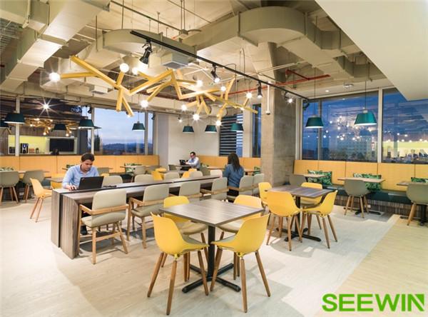 波哥大的微软办公家具设计理念
