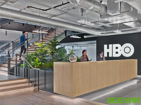 高冷·工业风 美国付费电视HBO西雅图办公家具设计