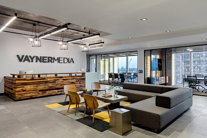 极具霸气 VaynerMedia范纳媒体纽约总部办公家具设计
