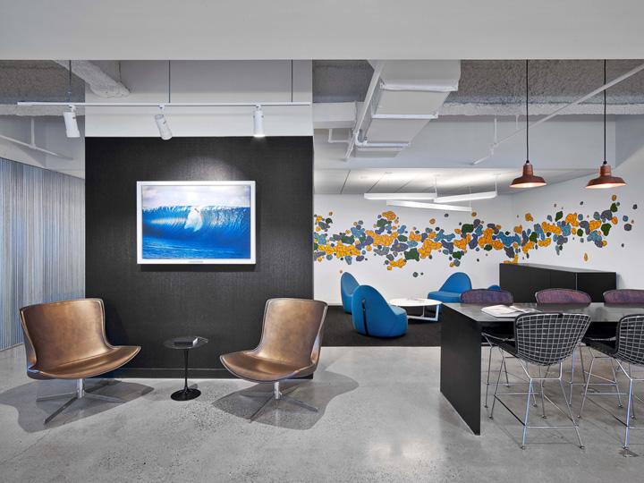 时尚元素 Sprout Social芝加哥总部办公家具设计