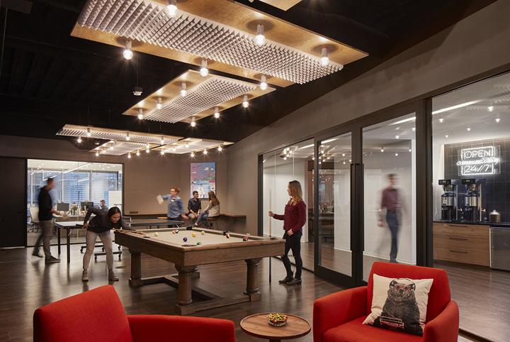 车险公司Metromile波士顿办公家具设计