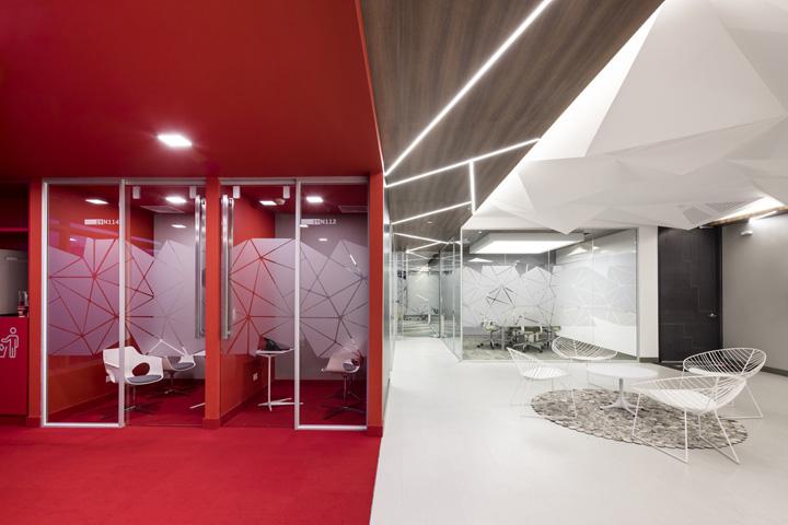 多元空间 Red Hat红帽公司哥伦比亚办公设计欣赏