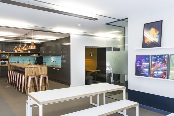 音乐激情 英国Audio Network音乐公司伦敦总部办公家具设计