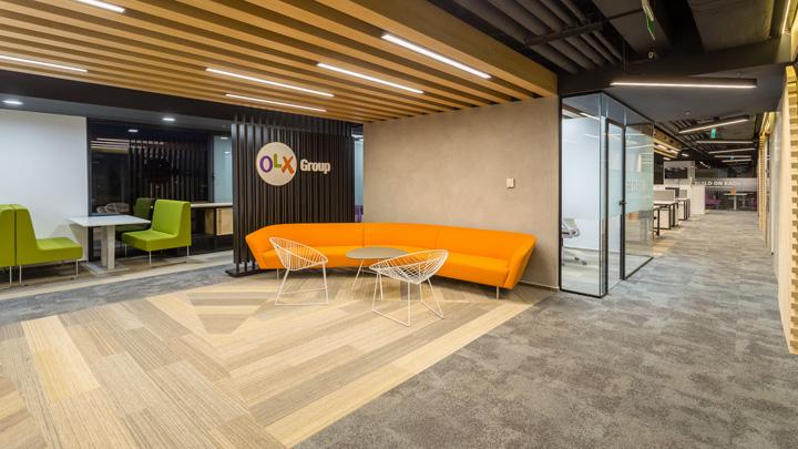 温暖工业风 广告公司OLX罗马尼亚办公家具设计欣赏