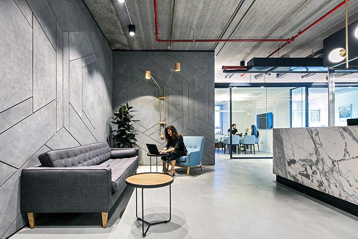 艺术魅力 以色列YETAX律师事务所办公家具设计欣赏
