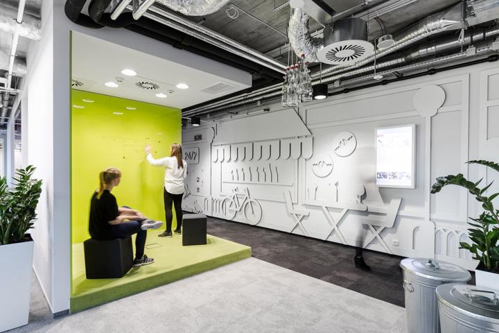 视觉惊艳 竞立媒体MediaCom华沙总部办公家具设计欣赏