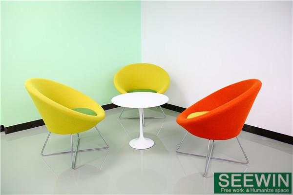 弧度能体现办公家具的人性化设计