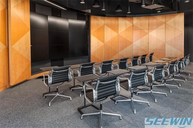 定型海绵填充办公椅相对更舒适
