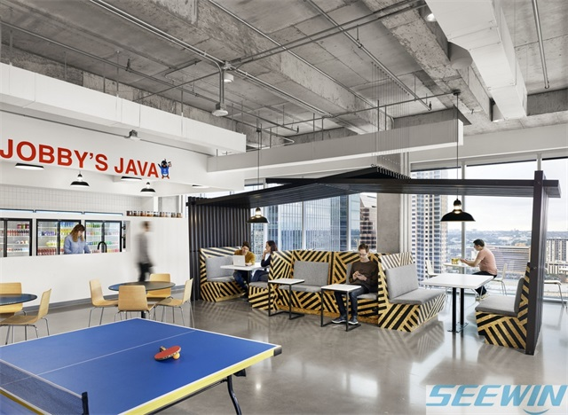 通过材质体现办公家具的美感