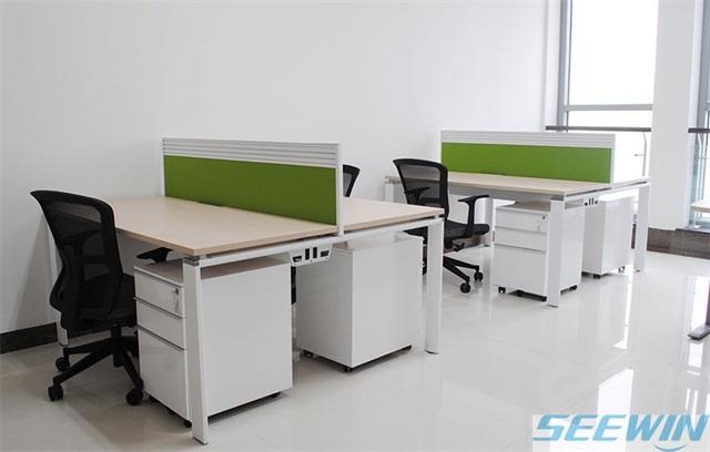 桌柜一体办公桌