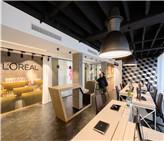 办公空间设计——塞尔维亚欧莱雅办公室展示