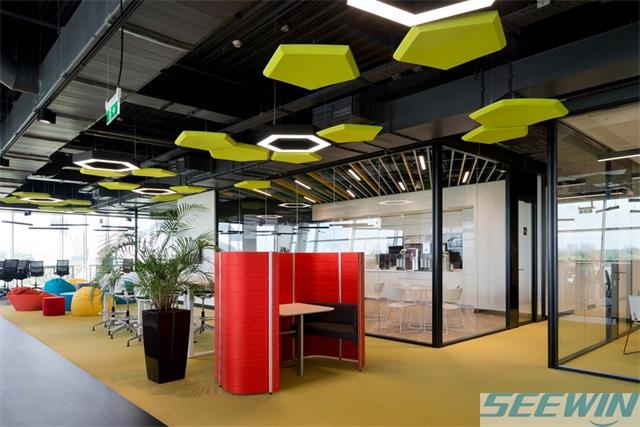 办公家具新玩法 纸质办公家具