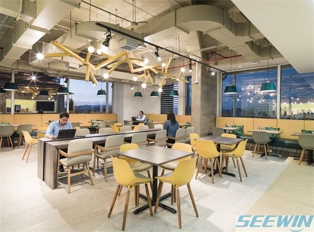 不同形状的办公家具有不同的用途