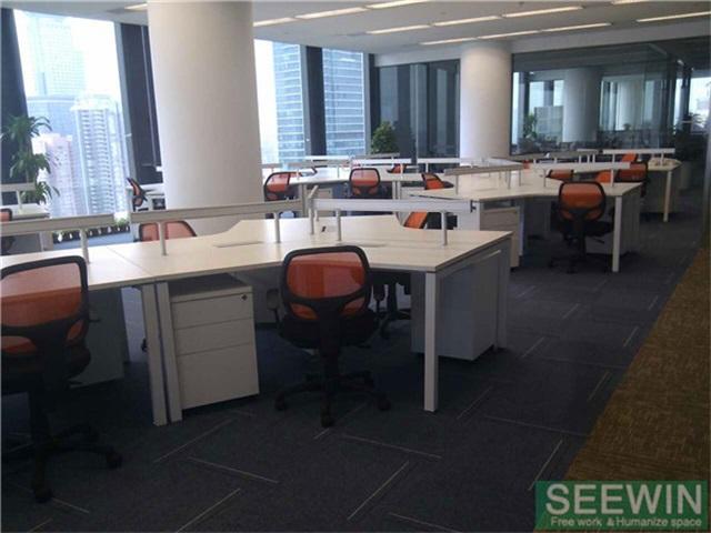 板式办公家具也可以拥有自然美