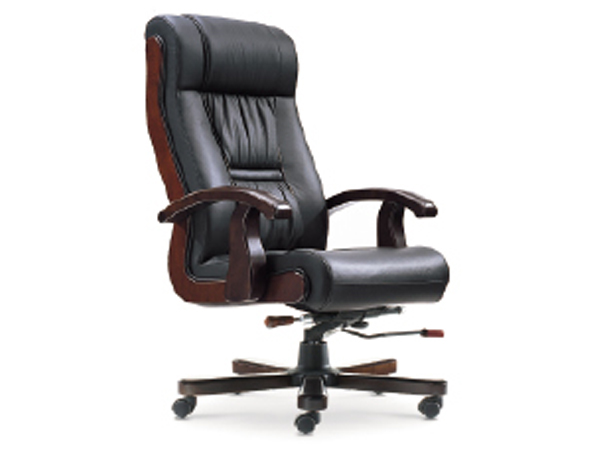 牛皮班椅-BGY09