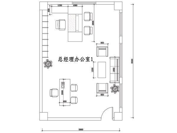 总经理办公室方案01-SM