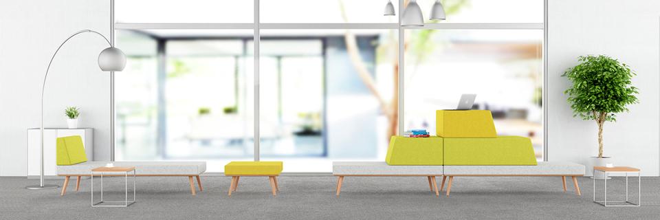 休闲办公沙发-布艺办公沙发-组合办公沙发-新黄金城官网办公家具